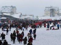 Erciyes'te hafta sonu büyük yoğunluk yaşandı