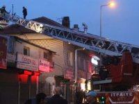 Argıncık'ta Çatı yangını