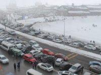 Erciyes'i hafta sonu 100 bin kişi ziyaret etti