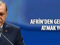 Erdoğan: Afrin hallolacaktır, geri adım atmak yok