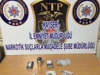 Kayseri'de Uyuşturucu operasyonunda bir kişi gözaltına alındı