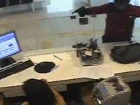 Kayseri'de Silahlı banka soygunu kamerada-video