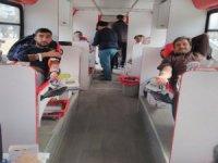 Develi Eğitim Bir Sen'de Mehmetçiğe kan bağışı desteği