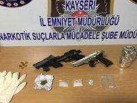 Kayseri'de Uyuşturucu taciri 3 kişi gözaltına alındı