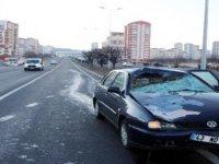 Kayseri'de otomobilin çarptığı yaya öldü