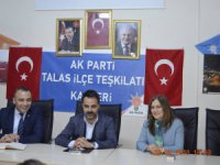 Ak Parti Kayseri Kadın Kolları Başkanı Timoçin gündemle ilgili açıklama yaptı