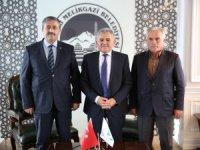 Tomarza Belediye Başkanı Işık Melikgazi'de