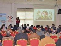 Akkışla'da madde bağımlılığı ve bağımlılıktan korunma yolları konulu seminer düzenlendi