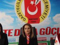 """Kayseri Kadınlar Derneği Başkanı Şahin, """"En ağır cezaların uygulanması toplum vicdanını rahatlatacaktır"""""""