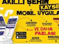 Akıllı Şehir Kayseri mobil uygulaması kullanılmaya başlandı