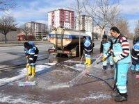 Kocasinan'da bahar temizliği devam ediyor