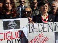 Kayseri'de CHP'li Kadınlardan çocuk istismarı tepkisi