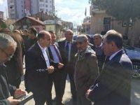 Ak Parti Kocasinan İlçe Başkanı Muammer Kılıç, Uğurevler'de
