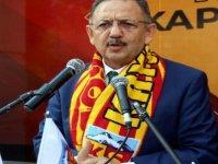 Özhseki Kayserispor Kapalı Kale Taraftar Derneği açılışını yaptı