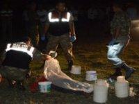 Borandere köyünde Çoban kafasına tabanca ile ateş ederek intihar etti