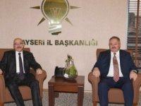 Nursaçan'dan AK Parti İl Başkanı Özden'e Hayırlı Olsun Ziyareti