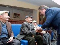 Başkan Palancıoğlu Huzurevini ziyaret etti