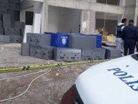 Talas'ta iskeleden düşen inşaat işçisi hayatını kaybetti