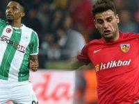 Konyaspor, Kayserispor'u 2-0 yenerek kritik bir galibiyet aldı