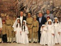 Kocasinan'ın çocukları Çanakkale ruhunu yaşattı