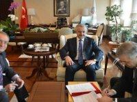Başkan Çelik Raylı sistem için Ankara'da protokol imzaladı