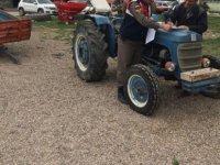 Sarıoğlan'da Traktör ve römork çalan bir kişi gözaltına alındı