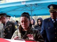 Kayseri'de Afrin şehidi ile Batman şehidi yan yana son yolculuklarına uğurlandı