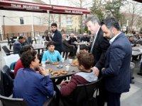 Başkan Palancıoğlu'ndan vatandaşlara ikram