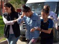 Kayseri'de 12 adrese uyuşturucu baskını 11 kişi yakalandı
