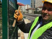 DYP Ankara İl Başkanı Hızlı Tren şantiyesinde işçi olarak çalışıyor