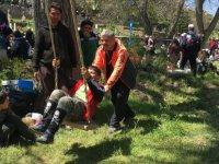 Kayseri'de 15 Bin Kişi ile Doğa Yürüyüşü