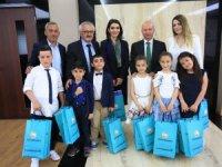 Başkan Çolakbayrakdar, koltuğu çocuklara devretti