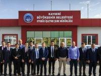 Kayseri'de Toplu ulaşıma özel eğitim