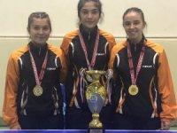 Kocasinan'ın Masa Tenisi B Takımı 2.Lig Şampiyonu