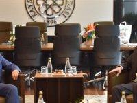 İl Başkanı Özden, KTO Başkanı Gülsoy'a hayırlı olsun ziyaretinde bulundu