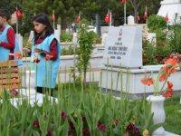 Melikgazi Belediyesi Çocuk Meclisi'nden şehitlik ziyareti