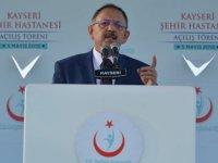 """""""KAYSERİ'NİN EN BÜYÜK PROJELERİ AK PARTİ'YLE GERÇEKLEŞTİ"""""""