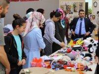 ERÜ'de Maddi Durumu İyi Olmayan Çocuklar Yararına Kermes Düzenlendi
