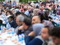 Kocasinan, ilk iftar programını Beşparmak'ta gerçekleştirdi