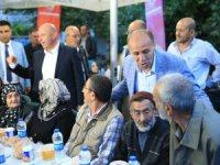 Ak Parti Kocasinan İlçe Başkanı Kılıç,iftarını Beşparmak'ta mahalle sakinleri ile açtı