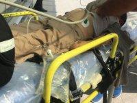 Erkilet Bulvarı'nda Karşıdan karşıya geçmeye çalışan çocuk kazada ağır yaralandı