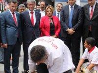 MHP Kayseri İl Başkanlığı Milletvekili Adayları için kurban kesti
