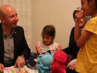 Çolakbayrakdar, Kalaycı ailesinin iftar sofrasına misafir oldu