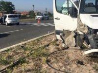Saraycık Mahallesinde Turist Kafilesi kaza yaptı: 9 yaralı