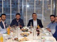 TOBB Kayseri Genç Girişimciler İcra Komitesi Başkanı Osman Güldüoğlu,ve Büyüksimitci genç girişimcilerle bir araya geldi