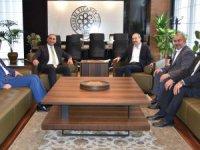 SGK İl Müdürü Hasgül ve Vergi Dairesi Başkanı KTO'yu ziyaret etti