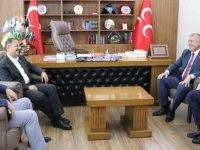 Özhaseki MHP İl Başkanı Serkan Tok'u ziyaret etti