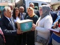 Melikgazi Belediyesi'nden Çölyak hastalarına özel gıda desteği
