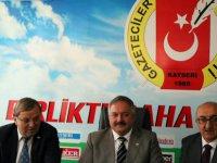"""Tahir Nursaçan, """"ihracat şehrimiz için uygun değil"""""""