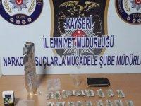 Kayseri'de Uyuşturucu operasyonu 10 kişi yakalandı